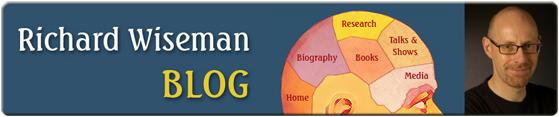 Richard Wiseman's Blog